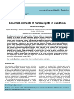 Bagde, Uttamkumars (2014) Essential Elements of Human Rights in Buddhism