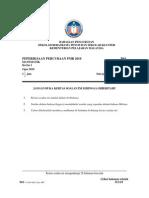 Trial PMR SBP 2010 Mathematics Cover P1