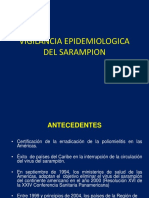 Vigilancia Epidemiologica Del Sarampion Ok