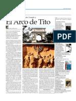 El Arco de Tito y Jerusalen