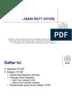 Desain Reaktor HTGR I