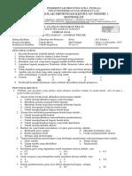 Soal Gambar Teknik Kelas Xi