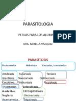 Perlas Parasitologia Enarm Dra. Mire