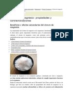 Cloruro de Magnesio 20