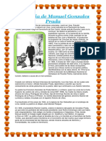 Biografía de Manuel Gonzales Prada