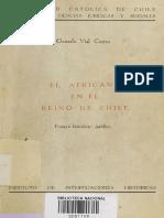 El Africano en El Reino de Chile - Gonzalo Vial