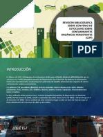 Revisión Bibliográfica Sobre Convenio de Estocolmo Sobre Contaminantes