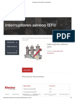 Interruptores Aéreos (EFI) – Electrowerke