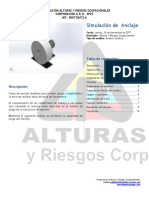 Anclaje Locomotora- Informe