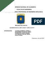 SUELOS LIQUIDO PLATICO