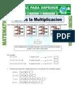 Ficha Que Es La Multiplicacion Para Tercero de Primaria (2)