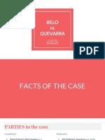 Belo vs. Guevarra