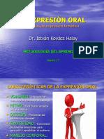 Sesión 13 Técnicas de Expresión Temática Oral