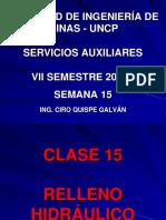 Clase 15 - Relleno Hidráulico.pdf