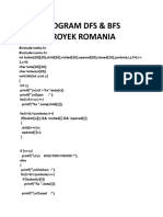 Program Dfs Proyek Romania