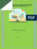 Manual Isntructivo Para La Utilización de Los Bits de Inteligencia Del Metodo Doman Para La Inciaicón de La Lectura de Los Niños de 4 Años (1)