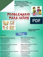 Problemario Para Niños ARTE