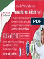 Anzeige Rosen Apotheke Heidelberg 184 x 62,5 Mm CMYK Motiv_Stellenanzeige PTA