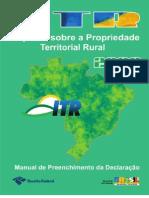 ITRManualPreenchimentoDITR2008