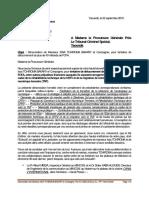 Dénonciation de Monsieur ISSA TCHIROMA BAKARY Et Compagnie, Pour Tentative de Détournement de Plus de 40 Milliards de FCFA