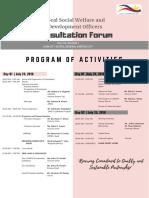CONSULTATION FORUM 2018_07.24-25.2018