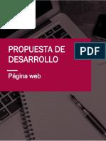 Desarrollo de página web básica