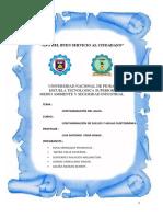 Tema de Contaminacion Del Agua