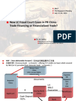 2014 Asia Annual Survey New LC Fraud Cases in China