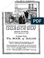 The Book of Isaiah Third Quarter 1928