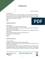 Cartas Frances Correccion Ejercicios