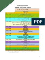 ICSSA2018 Schedule 17 July 2018