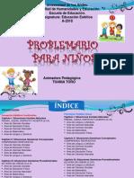 Problemarios Para Niños ESTETICA