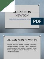 Aliran Non Newton