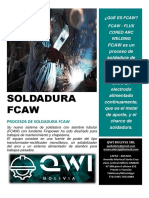 soldadura FCaw