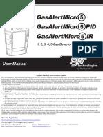 GasAlertMicro5 User Manual