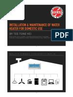 Installation  Maintenance of Water Heater --- ST - Updated.pdf
