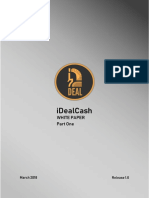 IDealCash White Paper PartOne v1 Final