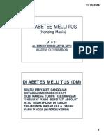 DIABETUS MELLITUS