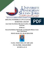 Cover Page Xperimen Sains