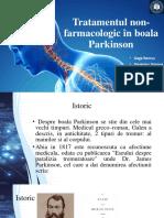 Tratamentul Non Farmacologic În Boala Parkinson