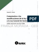 Ley de Sociedades comentada tras la reforma - Daniel Vitolo (2015)-.pdf