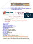 All About Deep Cycle Batteries