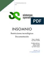 Insomnio-documentacion