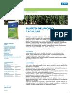 Sulfato Amonio Fert