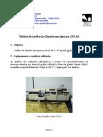 Método de análise de Chumbo em água por GFAAS.doc