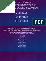 Powerpoint Math