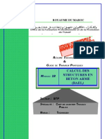 M18 Calcul des Structures en Béton Armé (BAEL)