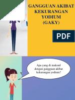 Mencegah Gaky Dengan Konsumsi Garam Beryodium