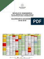 Calendario Polimi 2020 2020.Ingindinf Calendario 2019 20