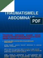 Traumatismele abdominale